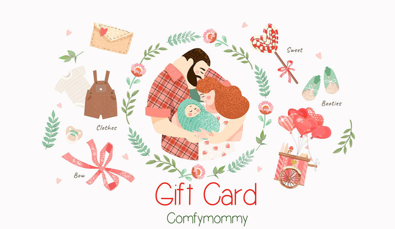 Gift Card from Comfy Mommy - comfymommyshop.in