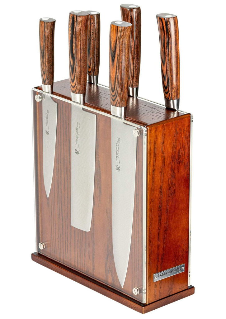 Tamahagane San 7 Piece Knife Block Set