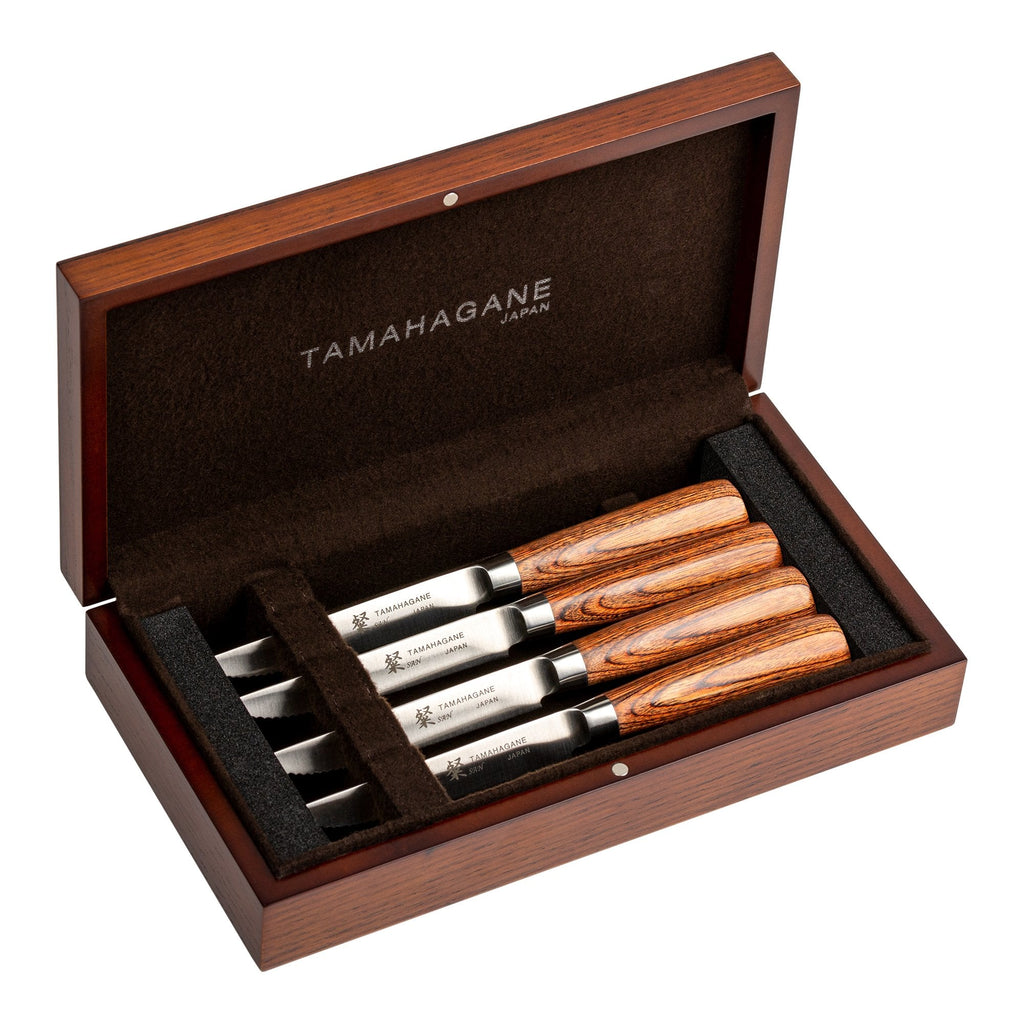 SN-4123 Tamahagane 4 Piece Steak Set
