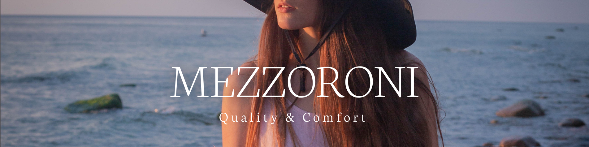 Mezzoroni new linen clothes collection promotion