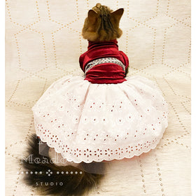 Princess Pet Dress - For Small Animals