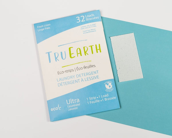 Laundry Detergent Eco-Strips - Fresh Linen