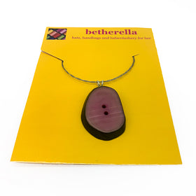 Dark Magenta Necklace