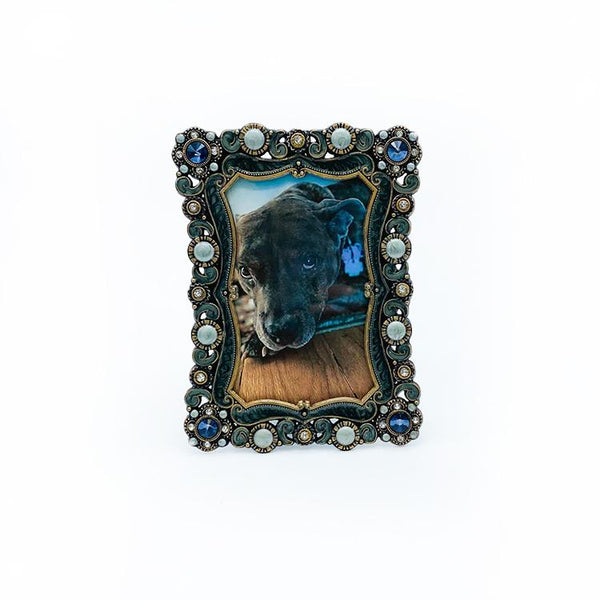 Bejeweled and Scroll Frame