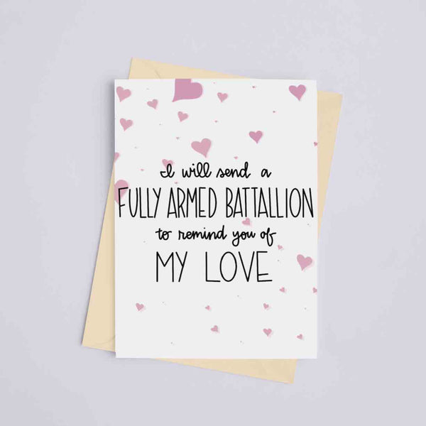 Armed Battalion Love - Hamilton