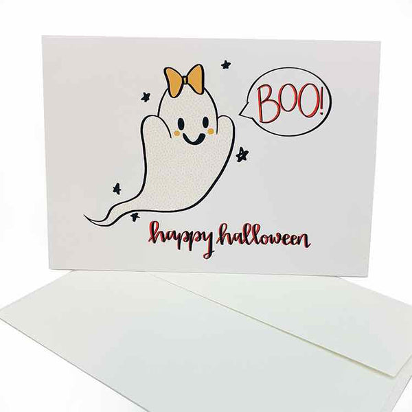 Boo Ghost Happy Halloween