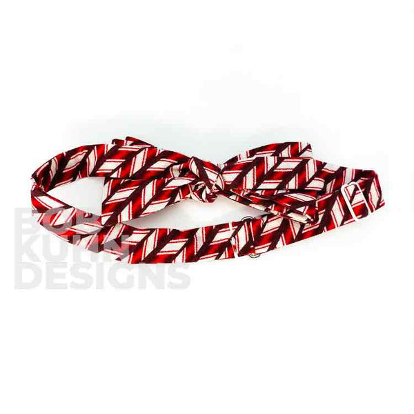 Candy Cane Bowtie
