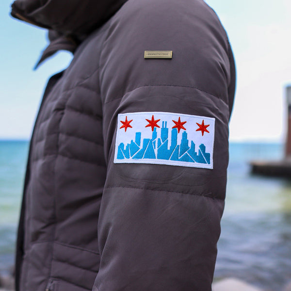 Chicago Skyline Embroidered Patch