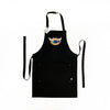 Apron - Chicago Sports Mash-up - Black Eco-conscious Apron with Embroidered Bib