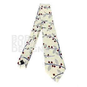 Holly Berry Necktie