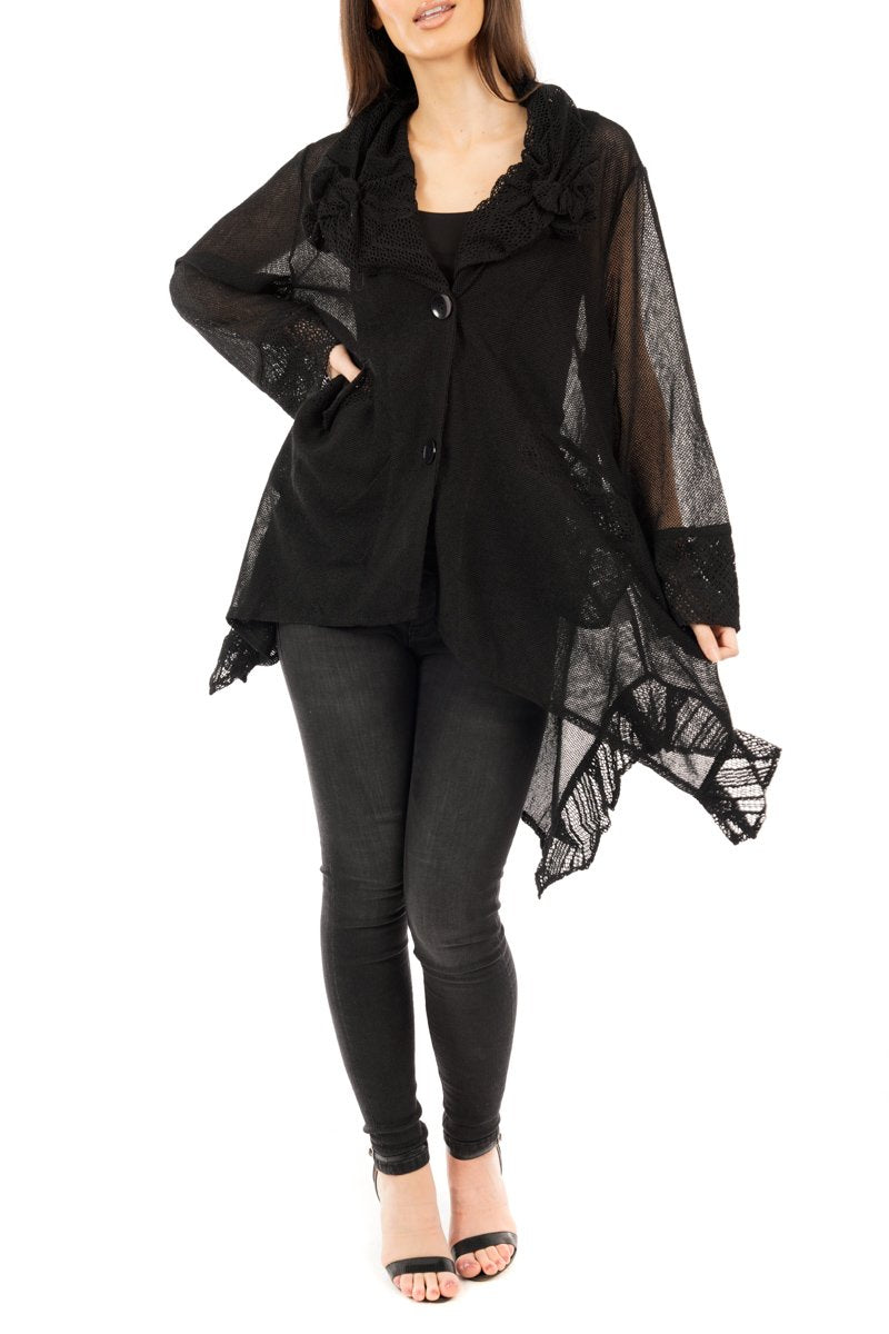 Florence Jacket Black - DressMyMood.co.uk