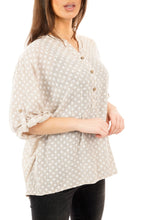 Load image into Gallery viewer, Santorini Shirt - Pale Pink / White - DressMyMood.co.uk