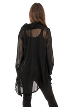 Load image into Gallery viewer, Florence Jacket Black - DressMyMood.co.uk