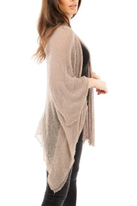 Fine Mesh Cover Up Fawn - DressMyMood.co.uk