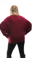 Load image into Gallery viewer, Star Jumper - Maroon - DressMyMood.co.uk