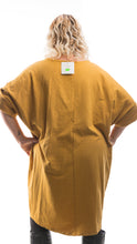 Load image into Gallery viewer, Women's Star Detail Tunic Dress - Orange - DressMyMood.co.uk