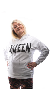 White Queen Hoodie - DressMyMood.co.uk