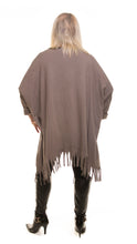Load image into Gallery viewer, Heart Style Tunic Long Top - Grey - DressMyMood.co.uk