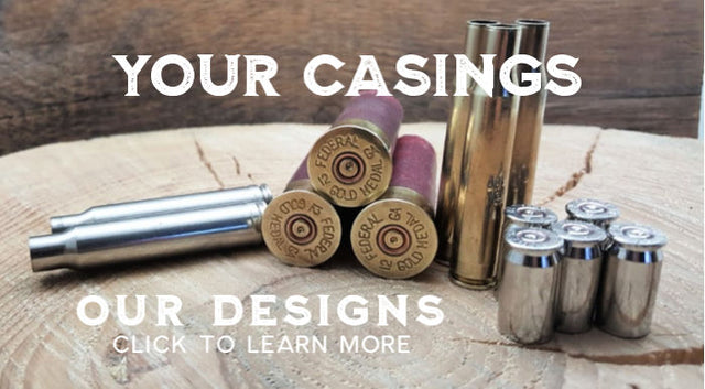 Your Casings, Our Designs - Customer Submitted Casings Service from SureShot Jewelry