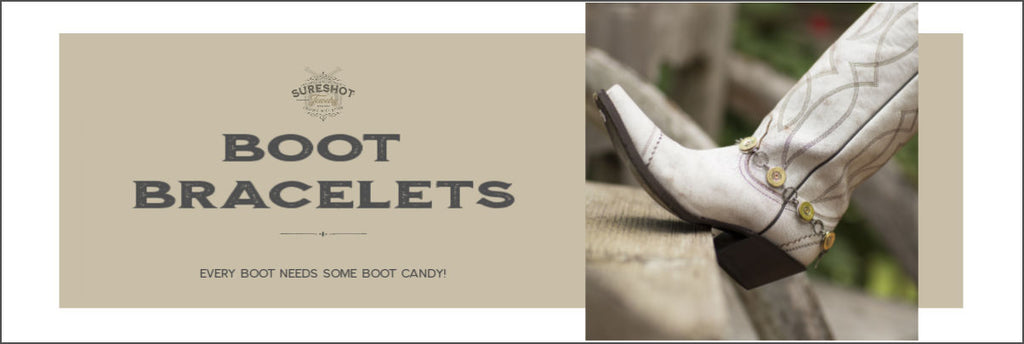 Ladies Boot Bracelets - Boot Candy - SureShot Jewelry