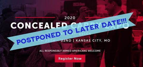 USCCA Concealed Carry Show Photo - Show Canceled