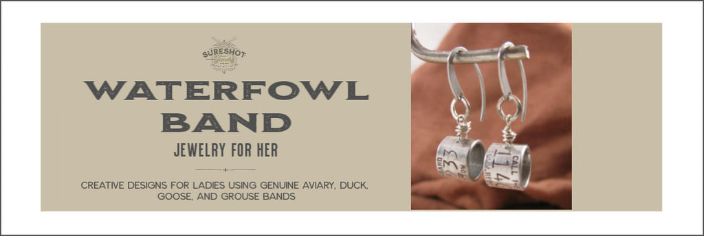 Waterfowl Band - Duck Band Jewelry for Her - SureShot Jewelry