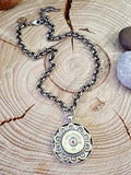 "Ricochet ""Round"" Medallion Bullet Necklace - BEST SELLER-SureShot Jewelry"
