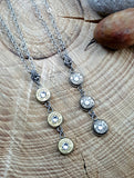 Triple Bullet Necklace - Bullet Jewelry - SureShot Bullet Designs