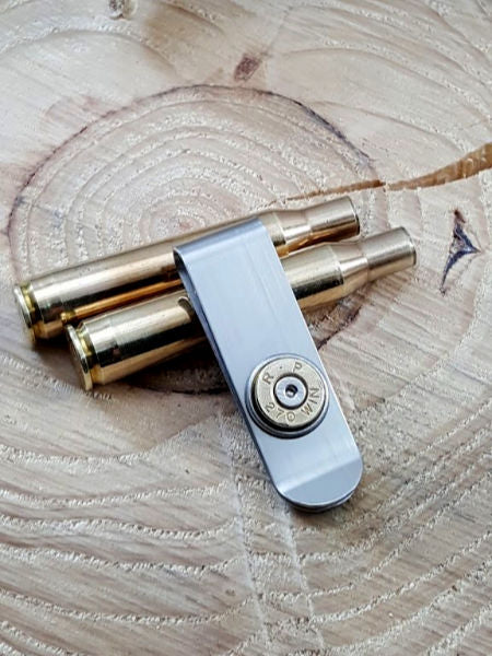 Bullet Money Clip - Slim Style - 270 Caliber-SureShot Jewelry