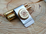 12 Gauge Shotshell Money Clip - Vintage Winchester Western Brand-SureShot Jewelry