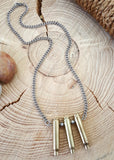 Bullet Jewelry - 223 Caliber Triple Bullet Necklace