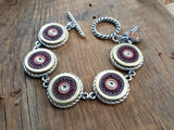 12 Gauge B&P Brand Shotshell Bracelets - Choice of Navy, Burgundy or Black-SureShot Jewelry