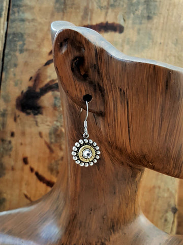Petite 25 Auto Dangle Bullet Earrings
