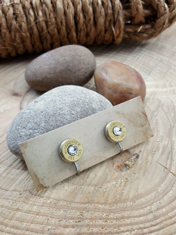 CLIP-ON Bullet Earrings-SureShot Jewelry