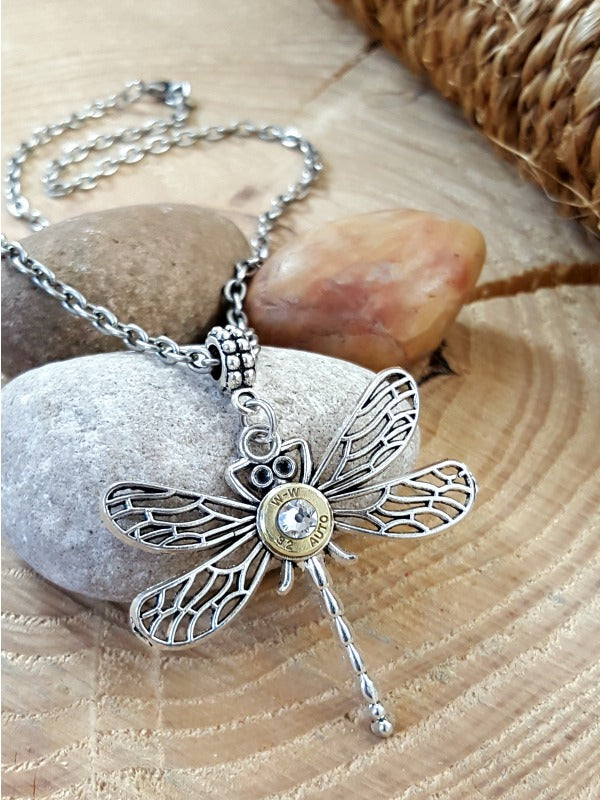 Dragonfly Bullet Necklace - A Summertime Fave!