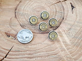 Bullet Buttons - Shirt Buttons - Button Shanks-SureShot Jewelry