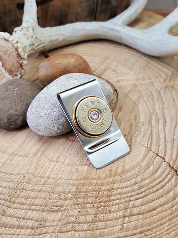 12 Gauge Shotshell Money Clip - Kent Brand