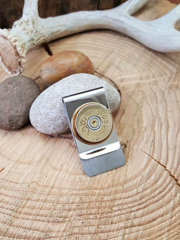 12 Gauge Shotshell Money Clip - Browning Brand