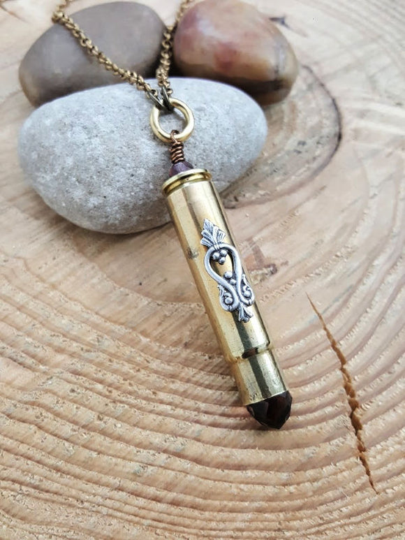 .308 Caliber Long Bullet Necklace - LIMITED EDITION-SureShot Jewelry