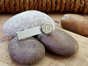 45 Auto Bullet Tie Bar / Tie Clip-SureShot Jewelry