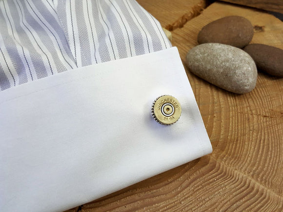 28 Gauge Shotshell Cuff Links-SureShot Jewelry