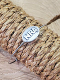 NRA Stainless Steel Wire Bangle Bracelet-Cuffs-SureShot Jewelry