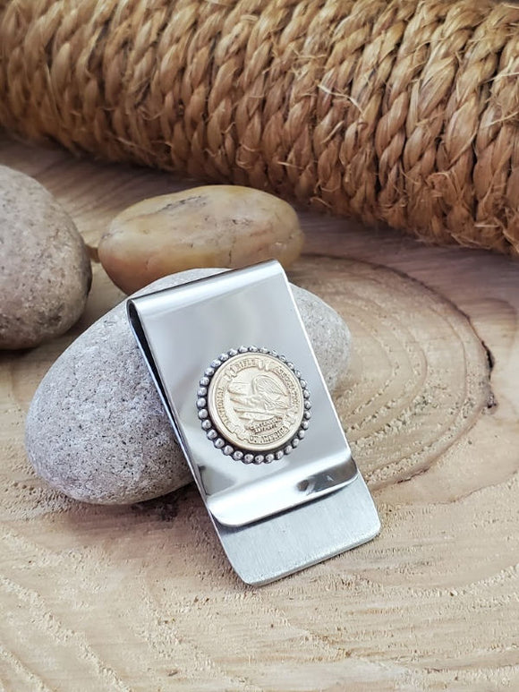 Genuine NRA Grip Medallion Money Clip-Money Clip-SureShot Jewelry