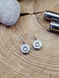 Classic Stainless Bullet Earrings - 12mm-SureShot Jewelry