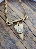 GOLD Follow Your Arrow Bullet Necklace - BEST SELLER!