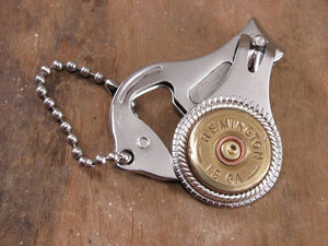 Shotshell Nail Clipper / Bottle Opener / Key Chain Combo-SureShot Jewelry