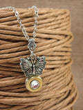 Butterfly Bullet Necklace - 410 Gauge Shotshell-SureShot Jewelry