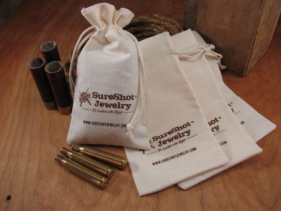 SureShot Cotton Jewelry/Gift Pouch-SureShot Jewelry