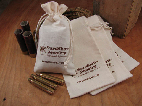 SureShot Cotton Jewelry/Gift Pouch