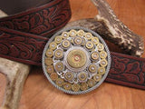 Bullet & Shotshell Round Western Belt Buckle-SureShot Jewelry